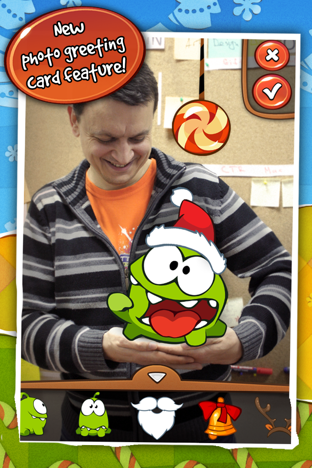 Скачать Cut the Rope: Holiday Gift в AppStore (Россия)