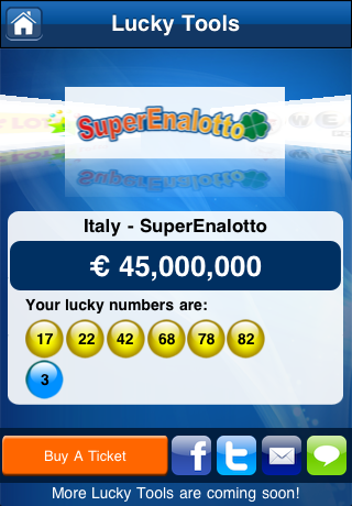 Lottery Results – theLotter Screenshot