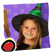 You Can't Scare Me! - a cute and funny Halloween costume story for kids by Wendy Wax (iPad version by Auryn Apps) icon