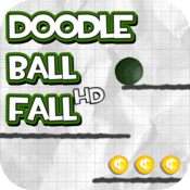 Doodle Ball Fall HD icon