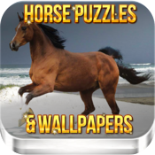 Horse Puzzle Pack & Wallpapers icon