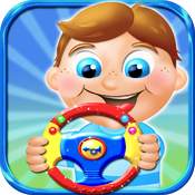 Kids steering wheels - interactive virtual toy HD icon
