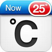 Celsius Free - Weather & Temperature on your Home Screen icon