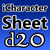 iCharacter Sheet d20