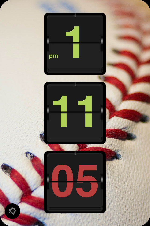 iFlipClock Plus HD – Retro Flip Clock and Music Alarm Clock Screenshot