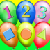 Balloon Academy HD - Pre K  & Kindergarten - Colors, Shapes, Numbers, Counting