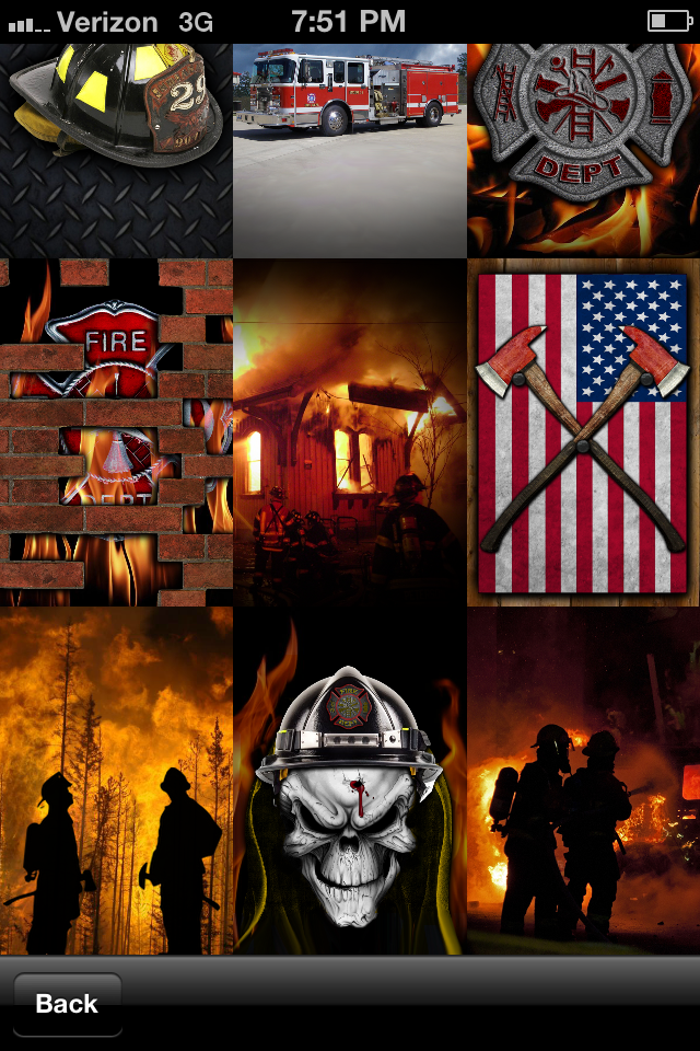 App Shopper Firefighter Wallpaper