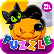 Abby Monkey® Halloween Animals Shape Puzzle for Toddlers and Preschool Explorers icon