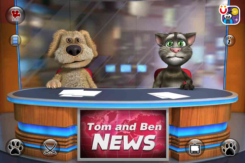 Image of Talking Tom &amp; Ben News for iPhone