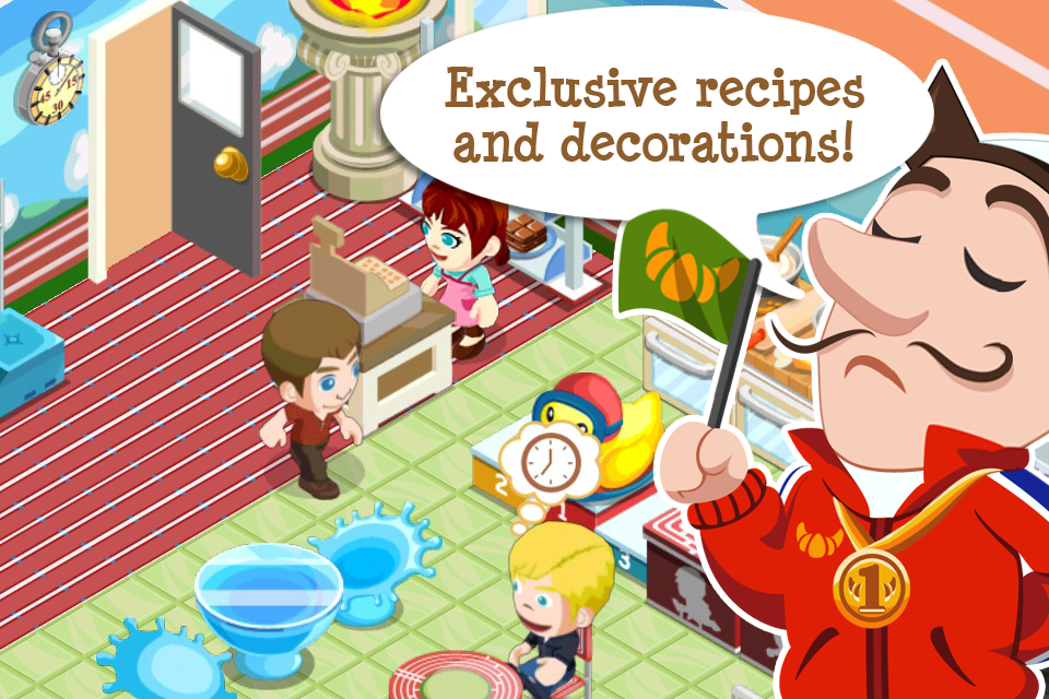 Bakery story world games review and discussion toucharcade for Bakery story decoration ideas