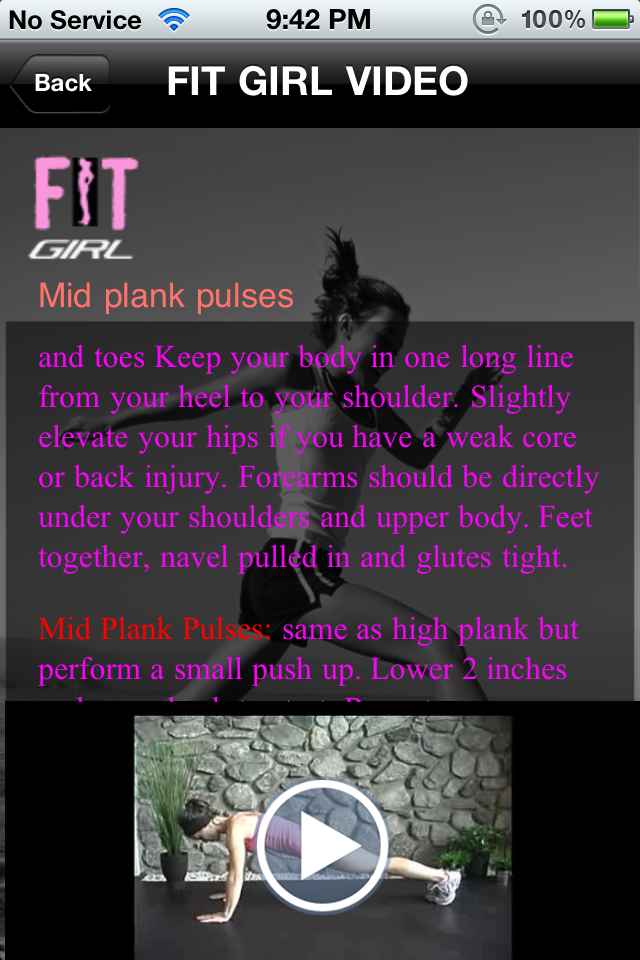 FitGirl App Screenshot