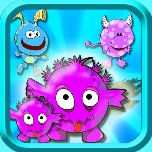 Monster Match - Outer space galaxy memory matching challenge for kids HD