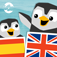 LinguPingu - English Spanish / Español Inglés - children learn languages