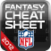 NFL Fantasy Cheat Sheet 2012