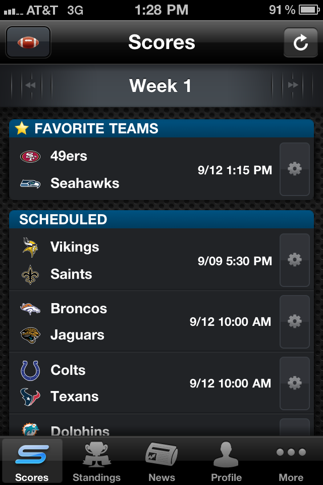 Yahoo! Sportacular Pro screenshot 1