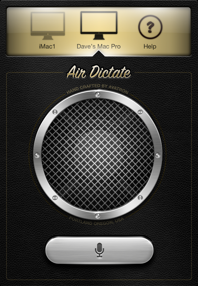 Air Dictate screenshot 1