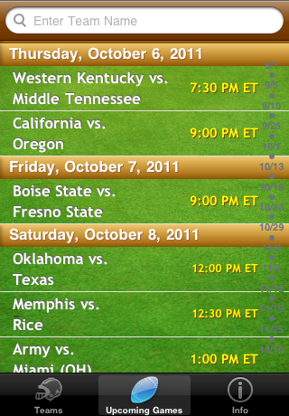 College Football Radio screenshot 2