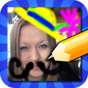 Doodle Face! Draw something silly on your photos! icon