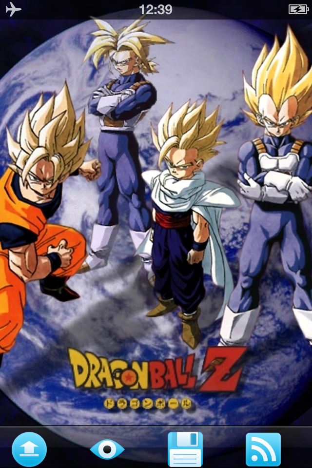 Dragon Ball Z Wallpapers Iphone Photo Video Apps By Caixia Yuwen