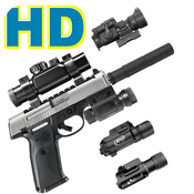 Gun Builder Factory ULTD icon