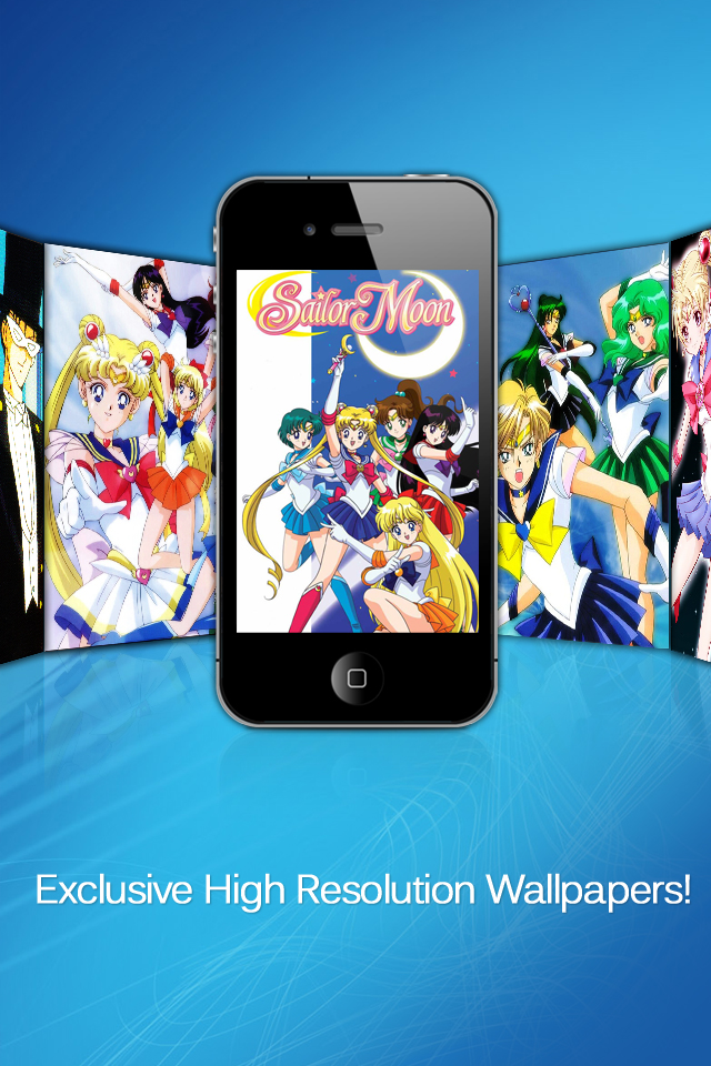 Sailor Moon Wallpapers Iphone Entertainment Apps By Sunday Apps