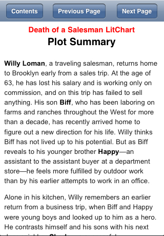 a plot summary of willy lomans death of a salesman The salesman, willy loman  important in driving the plot and the resolution elizabeth ed death of a salesman act i1 summary and analysis.