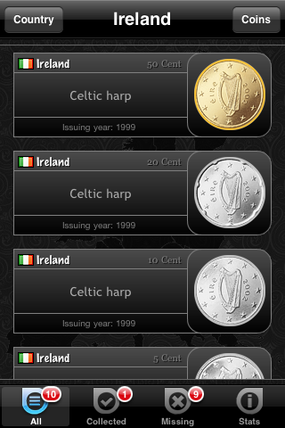 Euro Coin Album Screenshot