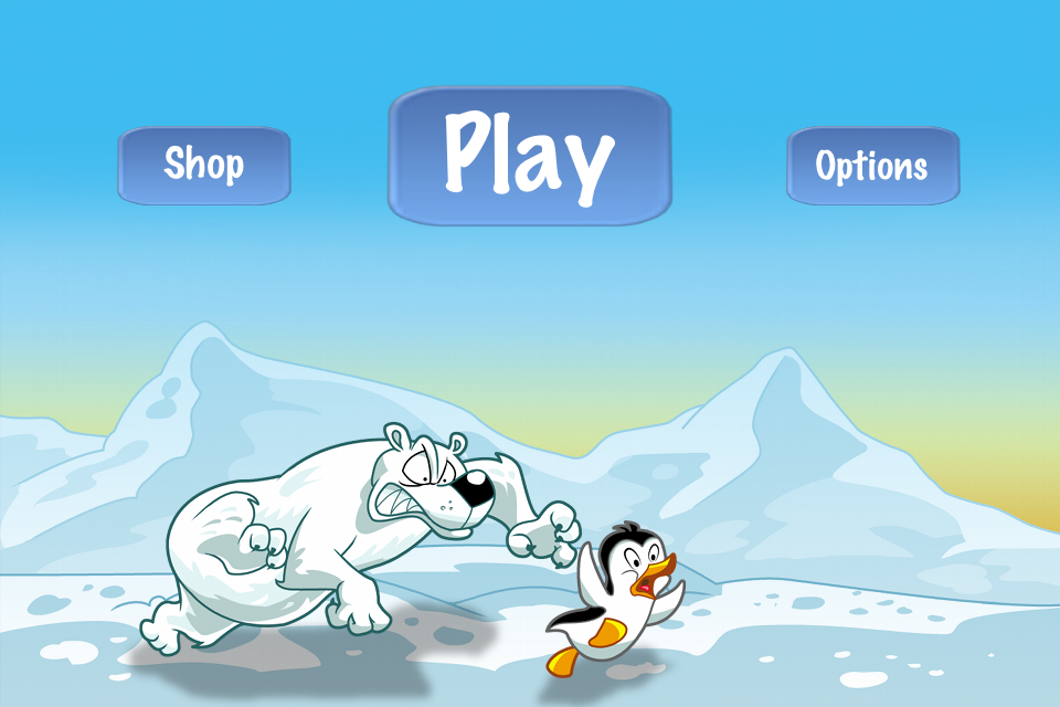 Racing Penguin Flying Free - by Top Free Games