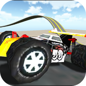 Rollercoaster Buggy Racing FREE icon