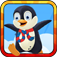 Icy Sliding Penguin