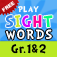 Sight Words 2 : 140+ learn to read flashcards and games app for kids. Play word bingo!