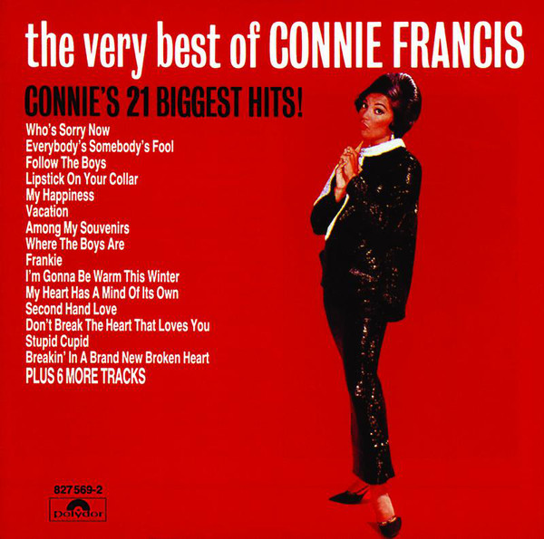Connie Francis - I'm Gonna' Be Warm This Winter