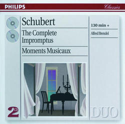 View album Alfred Brendel - Schubert: The Complete Impromptus - Moments Musicaux