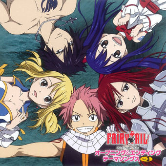 "TV Anime ""Fairy Tail"" Op & Ed Theme Songs, Vol. 3 – Various Artists"