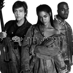 View album Rihanna and Kanye West and Paul McCartney - FourFiveSeconds - Single