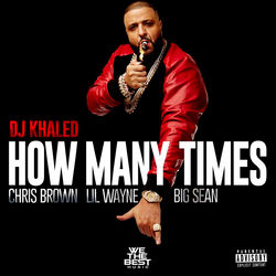 View album How Many Times (feat. Chris Brown, Lil Wayne, & Big Sean) - Single