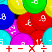 Math bubble MA icon