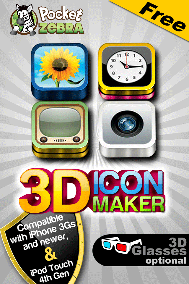 3d Icon Maker Free Lifestyle Entertainment Free App For