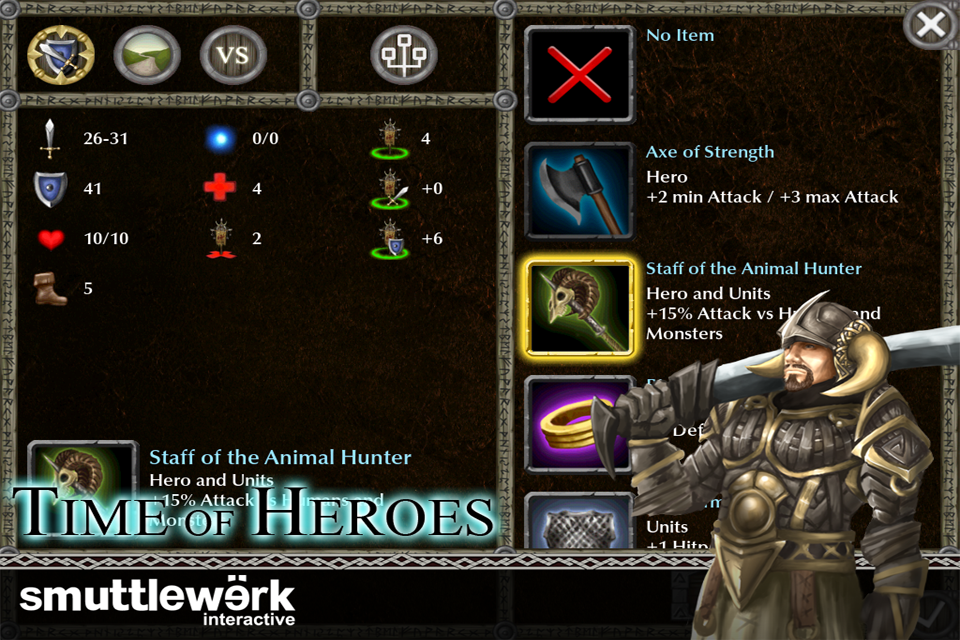 mzl.flxkyixk [Iphone] Time of Heroes v1.0 divertido juego  en 3D de estrategia por turnos!