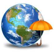 3D Weather Globe & Atlas Deluxe for Mac icon