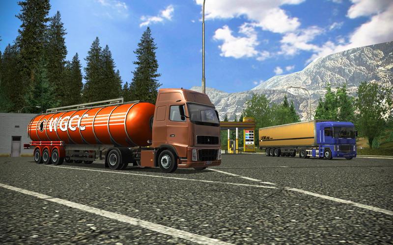 Euro Truck Simulator na Mac App Store