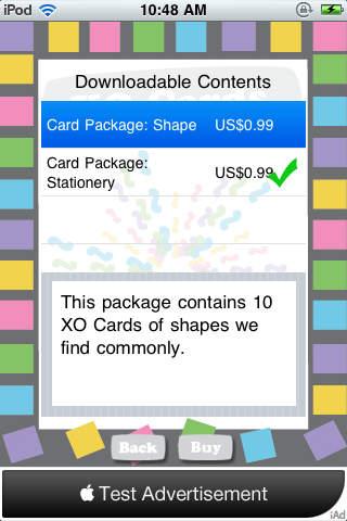 XO Card iPhone Screenshot 4