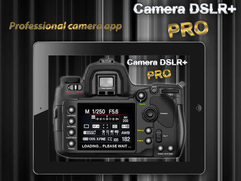 Camera DSLR+ PRO for iPad 2