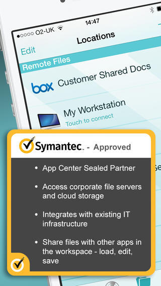 FileBrowser with Symantec