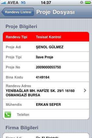 Dipos Mobile iPhone Screenshot 2