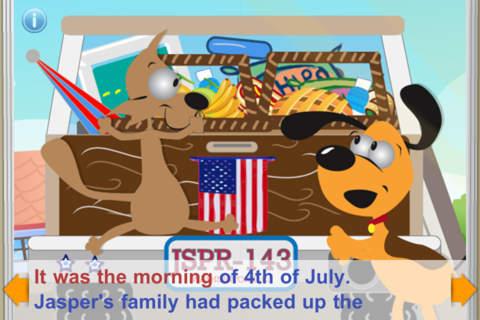 Jasper in 4th of July Fireworks