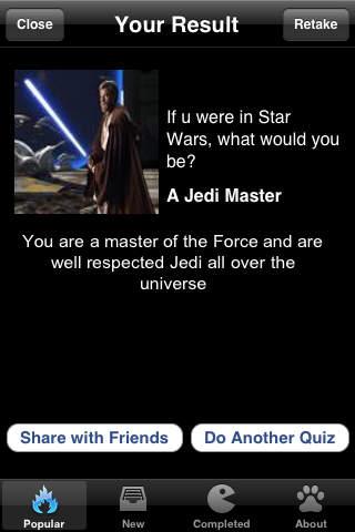 Quiz Whiz for Facebook (Free) iPhone Screenshot 3