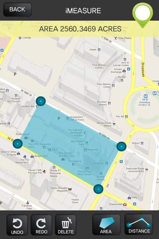 Imeasure Area Distance Calculator App App