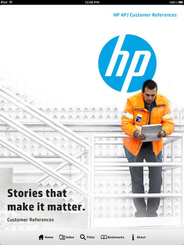 HP APJ Customer References