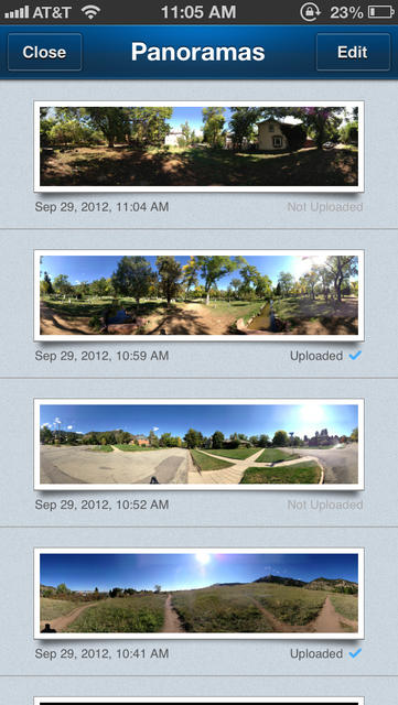360 Panorama - iPhone Mobile Analytics and App Store Data